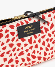 wouf White Hearts Small Pouch -  Para Çantası