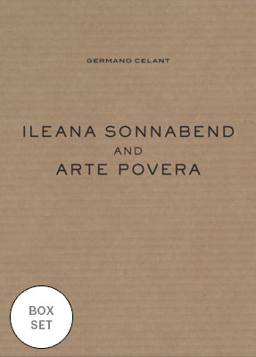 Ileana Sonnabend and Arte Povera (Boxed Set)