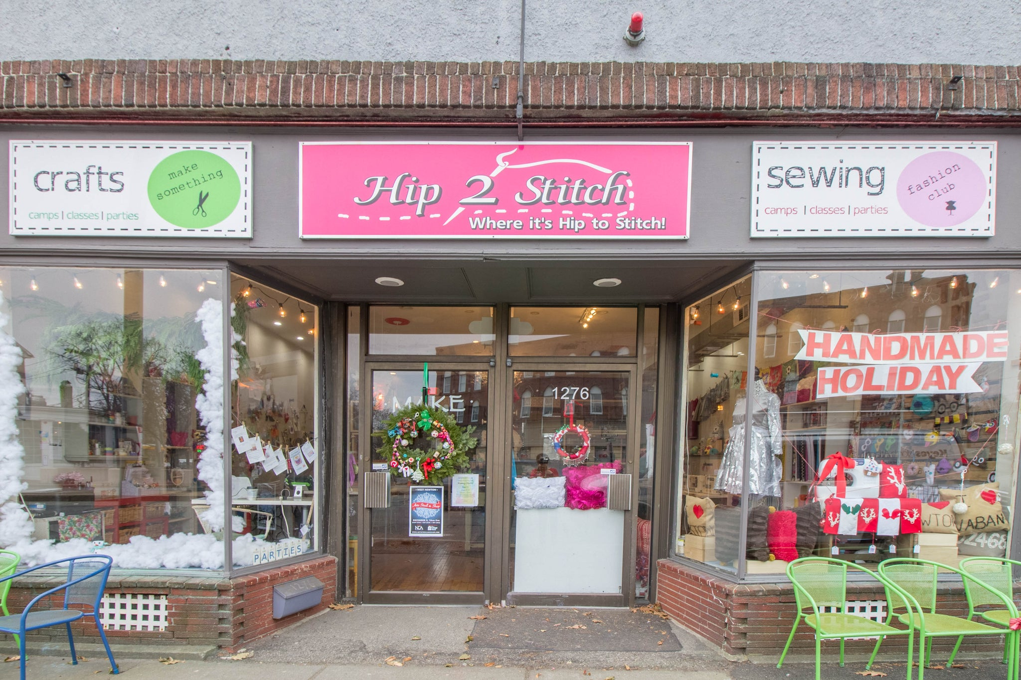 Our beautiful storefront