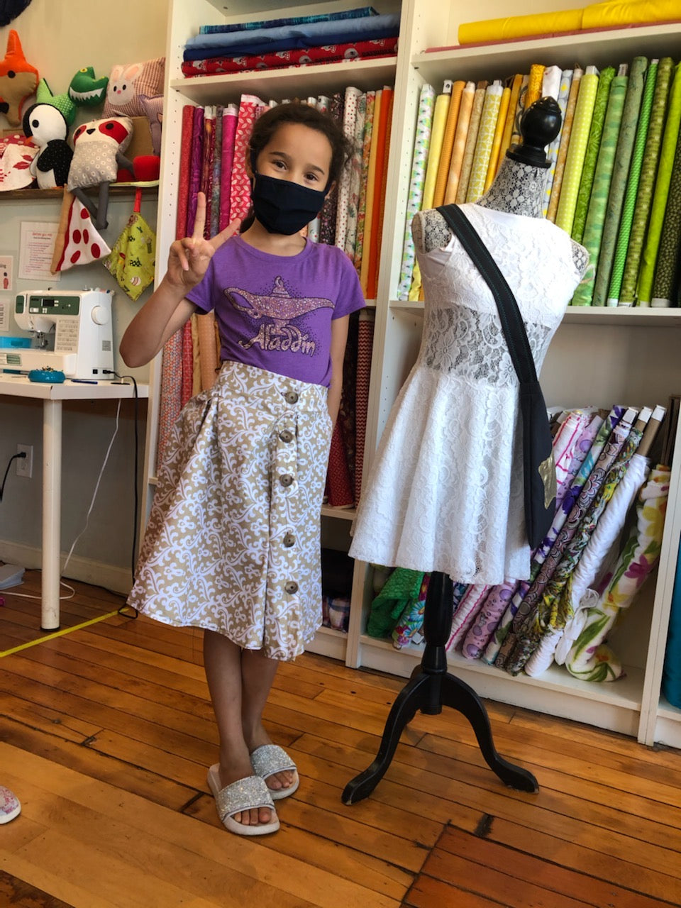 Summer Sewing Camp - Individual Full Day - NEWTON