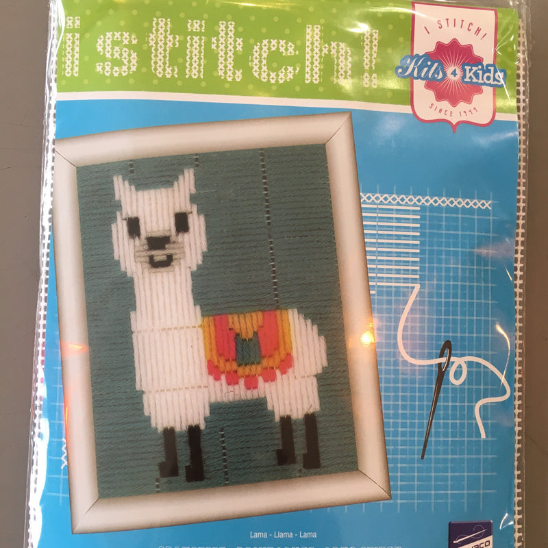 Retail: Llama Cross Stitch Kit