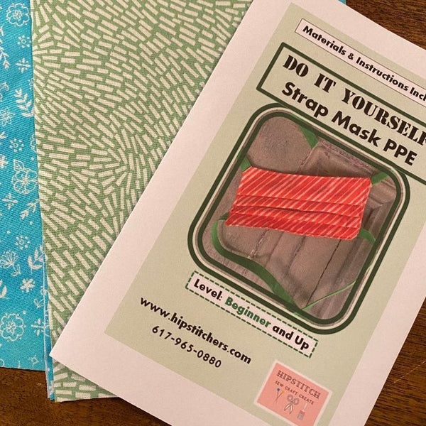 Kit:  Face Masks to Sew at Home