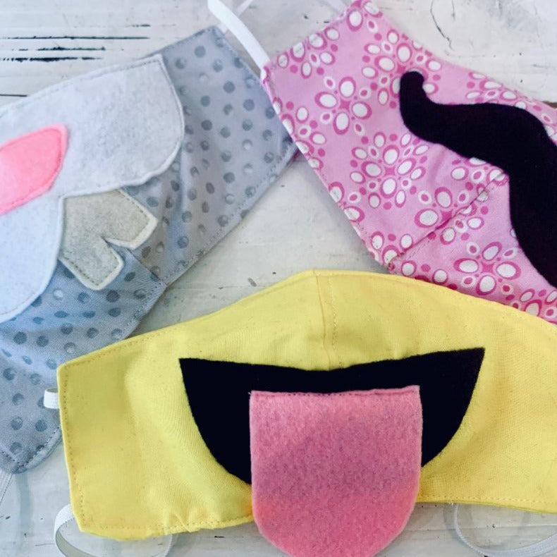 Kit: Protective Face Masks to Sew at Home