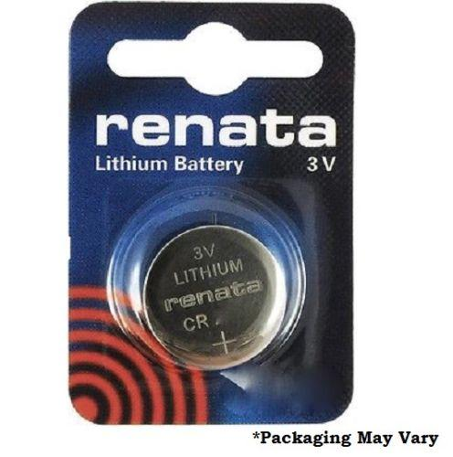 Renata CR2325 Low Drain 3v Silver Lithium Multi Drain Watch Battery - Single Piece Secure Card