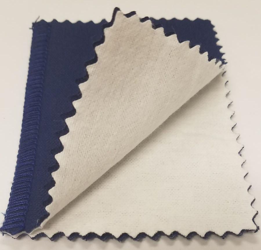 Silver, Gold & Platinum Jewelry Polishing Cloth - Two Cloth System (Blue)