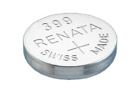 Renata #399 SR927W 1.55v Silver Oxide Battery - Tear Strip of 10