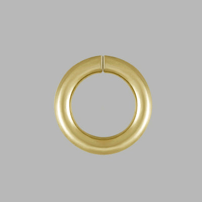 Jump Rings - Open, Yellow Gold Filled - 5mm - Pack of 12