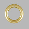 Jump Ring Yellow Gold Filled Open Jump Rings DIY Jewelry Making Findings - 7mm- for Jewelry Craft Making - Pack of 12