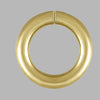 Jump Ring Yellow Gold Filled Open Jump Rings DIY Jewelry Making Findings - 8mm- for Jewelry Craft Making - Pack of 12