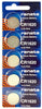 Renata CR1620 Low Drain 3v Silver Lithium Multi Drain Watch Battery - Tear Strip of 5