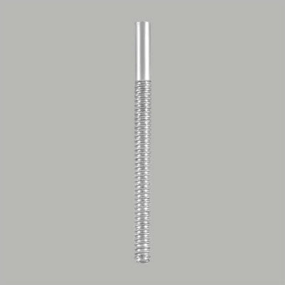 Sterling Silver Threaded Earring Screwback Post