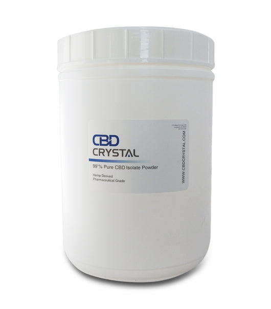 1000 Grams of 99+% CBD Crystal™ Isolate