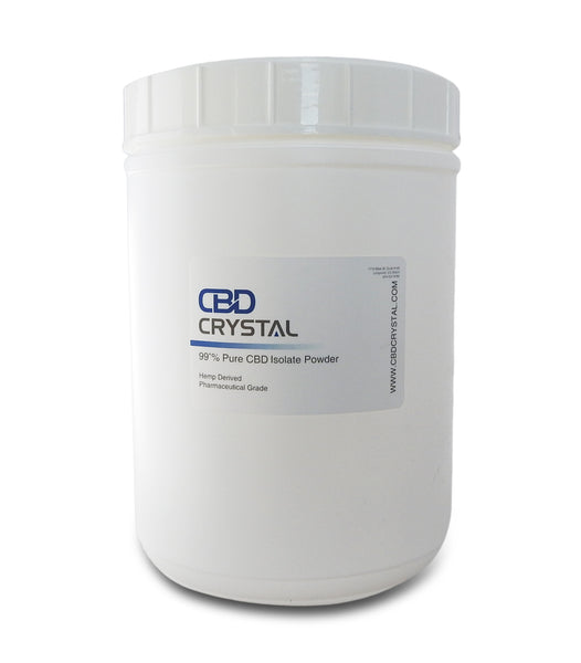 "1000 Grams of 99+% CBD Crystal™ Isolate ""Powder"" - CBD Crystal"