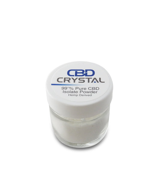 10 Grams (10,000 milligrams) of 99+% CBD Crystal™ Isolate