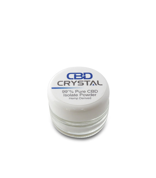 2 Grams (2000 milligrams) of 99+% CBD Crystal™ Isolate SAMPLE - CBD Crystal