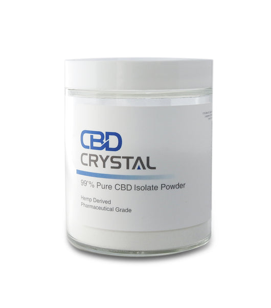 50 Grams (50,000 milligrams) of 99+% CBD Crystal™ Isolate