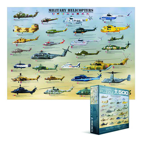 Jigsaw Puzzle: Military Helicopters