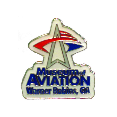 Museum of Aviation Logo Lapel Pin