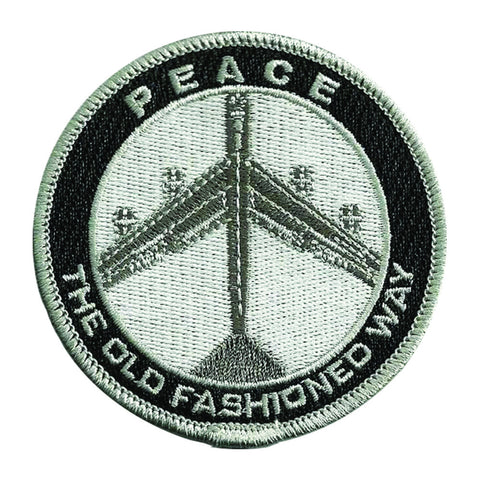 Patch: Peace The Old Fashioned Way 3""