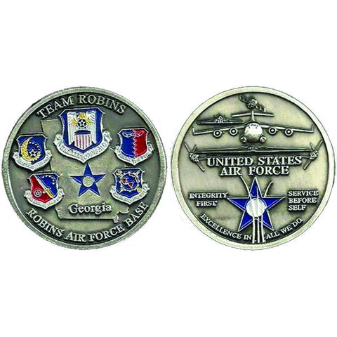 Team Robins Challenge Coin