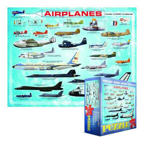 Jigsaw Puzzle: Airplanes