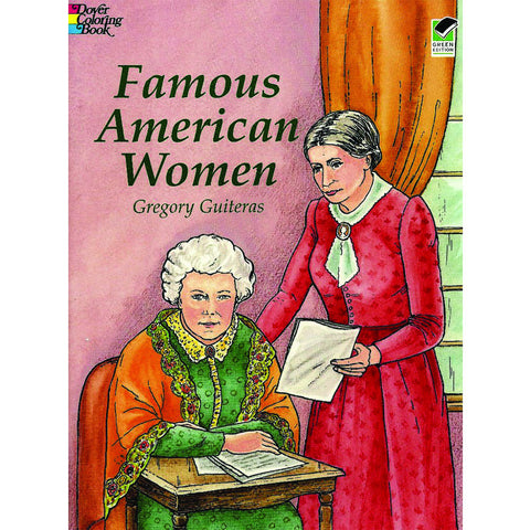 Coloring Book: Famous American Women