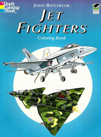 Coloring Book: Jet Fighters