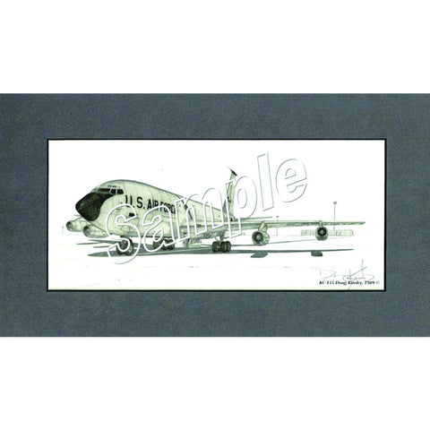 KC-135 Lithograph