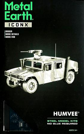 Steel Model Kit : ICONX HUMVEE