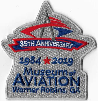 Museum of Aviation Logo Patch