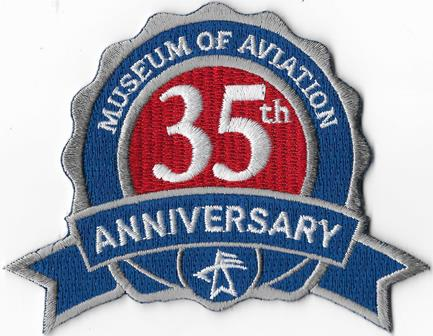 Museum of Aviation 35th Patch