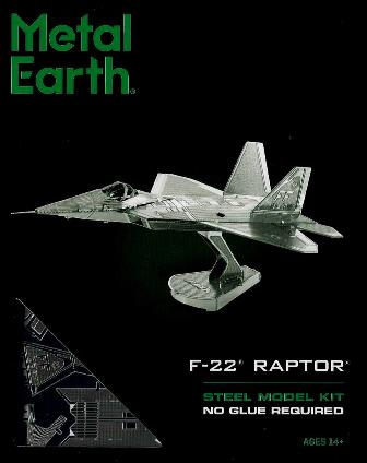 Steel Model Kit F-22 RAPTOR