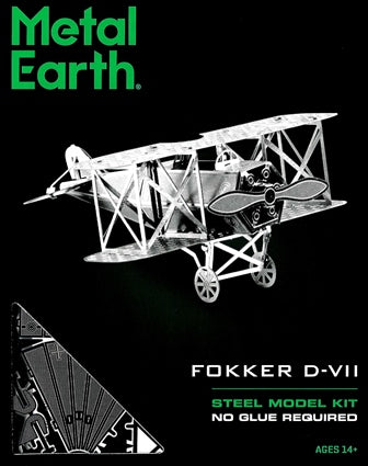 Steel Model Kit Fokker D-VII