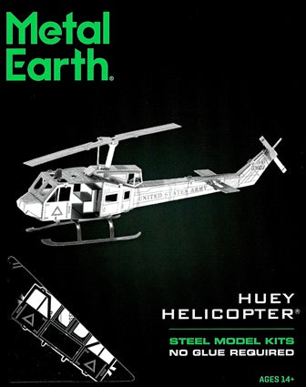 Steel Model Kit HUEY HELICOPTER