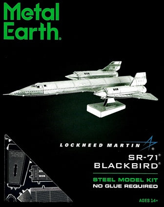Metal Earth: SR-71 BLACKBIRD