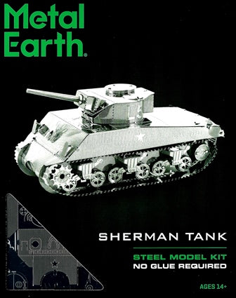 Steel Model Kit: SHERMAN TANK
