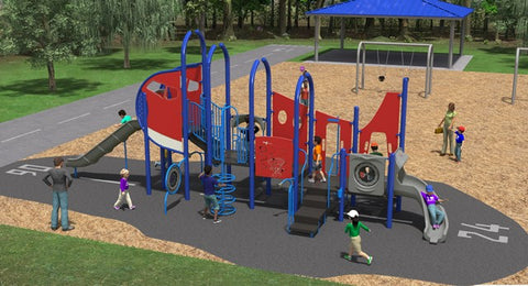 Museum of Aviation Playground Remodel 2020