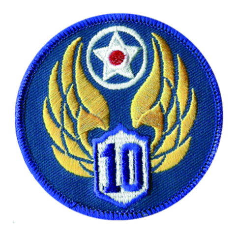 10th Air Force Patch