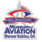 Museum of Aviation 35th Anniversary Lapel Pin