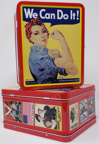 Rosie Metal Lunch Box