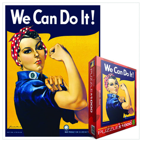 We Can Do It Jigsaw Puzzle
