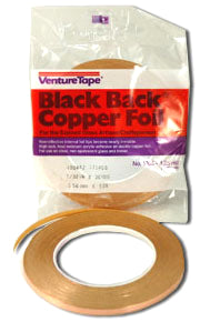 Black Backed Copper Foil Tape Venture Tape
