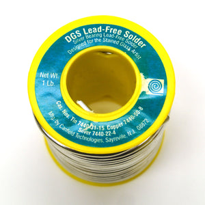 DGS Lead Free Solder (1 lb) Stained Glass Supply