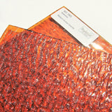 Medium Amber Granite Stained Glass Sheet Kokomo 18G