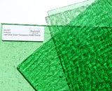 Kokomo Light Blue Green Transparent Rolled Granite Stained Glass Sheet K510G