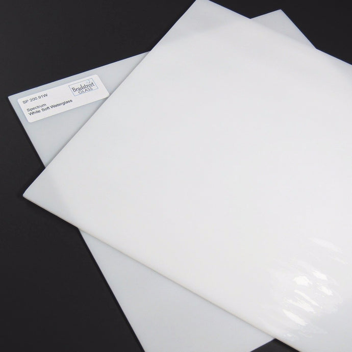 White Soft Waterglass Stained Glass Sheet Spectrum 200.91W