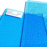 Wissmach Medium Sky Blue Classic Cathedral Translucent Stained Glass Sheet WI 300 CLA