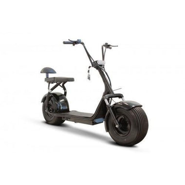 E Wheels EW-08 Fat Tire Electric The Dude w/Speaker Scooter - able mobility
