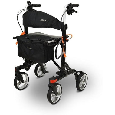EV Rider Move X Compact 4 Wheels Rollator Walker - able mobility