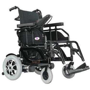 Heartway HP5 Escape Dx Lightweight Foldable Power Wheelchair-Power Wheelchair-Heartway USA-Adept Mobility